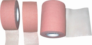 Elastic fabric strapping